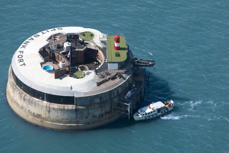 "Simply called ""The Solent"", this sea fort is one of three up for sale. (Strutt & Parker)"