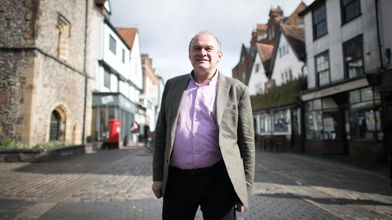 Lib Dem leader Sir Ed Davey says party is 'not strong'