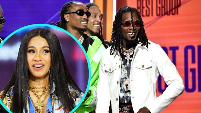 Rapper Offset Thanks 'Wife' Cardi B at BET Awards -- Are They Already Married?