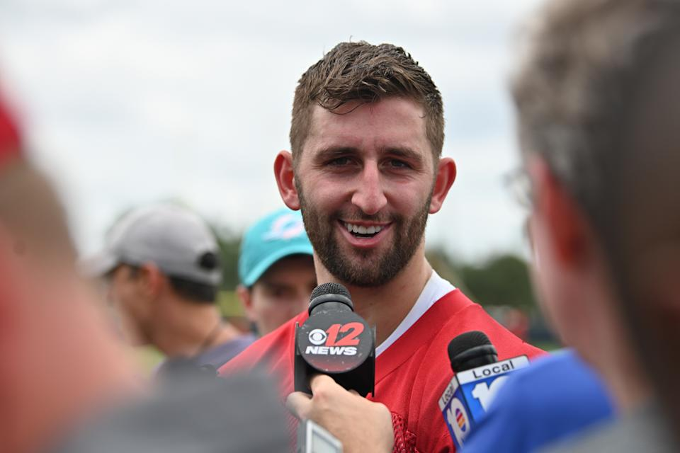 Josh Rosen will have a chance to prove he's the Miami Dolphins' future at QB. But if he doesn't this year ... (Getty Images)