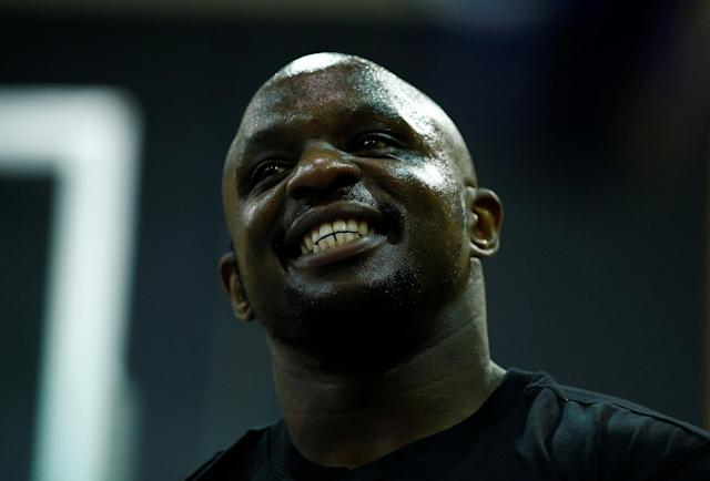 Boxing - Dillian Whyte & Lucas Browne Media Work-Outs - The Third Space, London, Britain - March 20, 2018 Dillian Whyte during his work out Action Images via Reuters/Andrew Couldridge