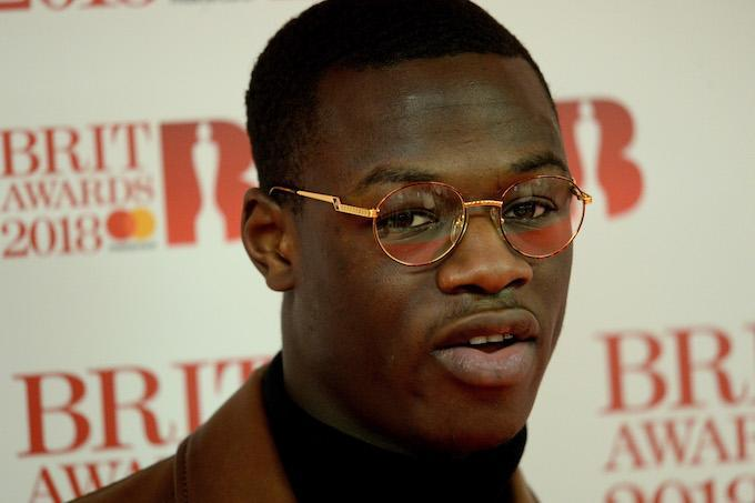 The police stopped the 23-year-old's vehicle near a shopping center in east London on Thursday, and J Hus was subsequently arrested on suspicion of possessing a knife or bladed article.