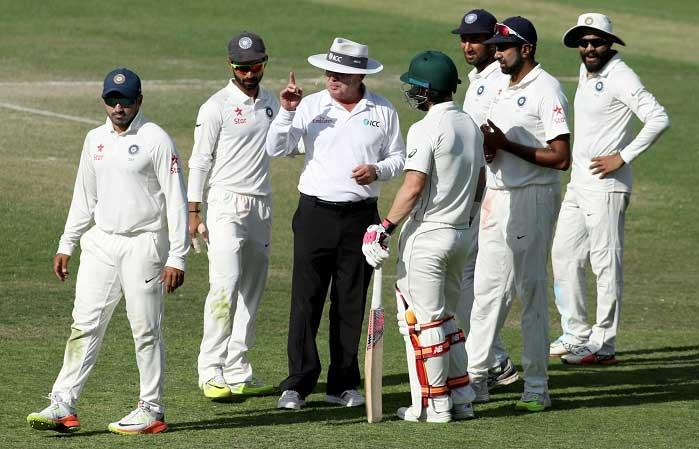 Bowlers hand advantage to India on third day of Dharamsala Test