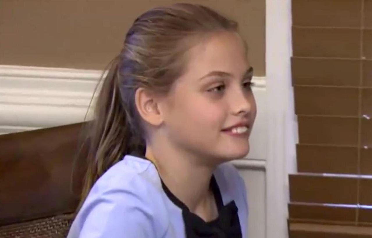 Anna Nicole Smiths daughter has grown up and now looks
