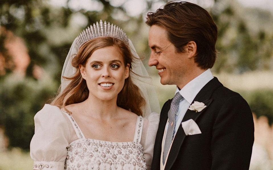 Princess Beatrice and Edoardo Mapelli Mozzi  - AP
