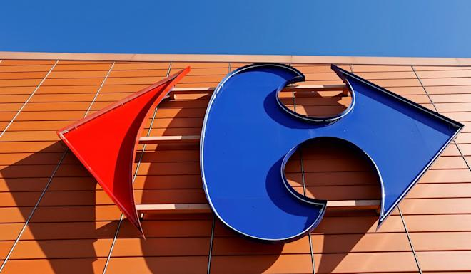 1st LD-Writethru: Suning buys controlling stake in Carrefour China