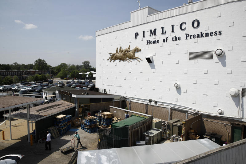 Baltimore sues to block move of Preakness Stakes