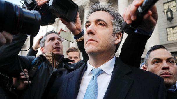 PHOTO: Michael Cohen walks out of federal court, Nov. 29, 2018, in N.Y. (Julie Jacobson/AP)