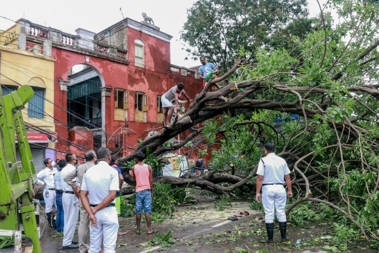 Cyclone Amphan, a fierce storm in the Bay of Bengal, killed more than 100 people in India and Bangladesh