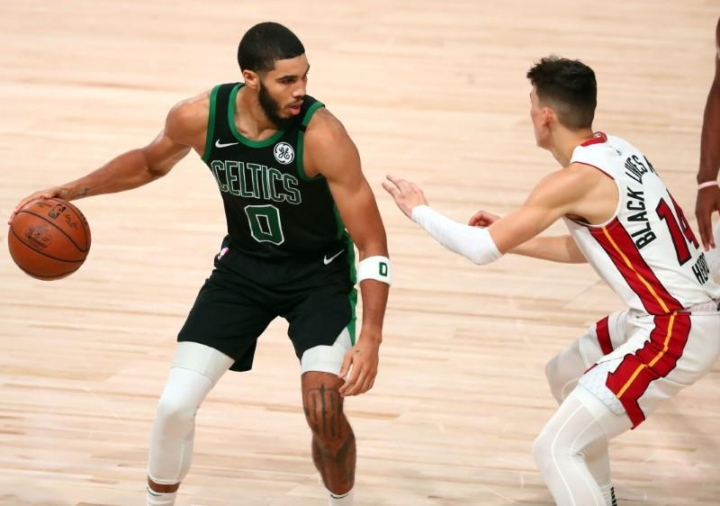 NBA: Playoffs-Miami Heat at Boston Celtics