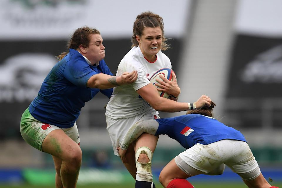 <p>England are in Pool C for the next Rugby World Cup, along with France</p> (Getty Images)