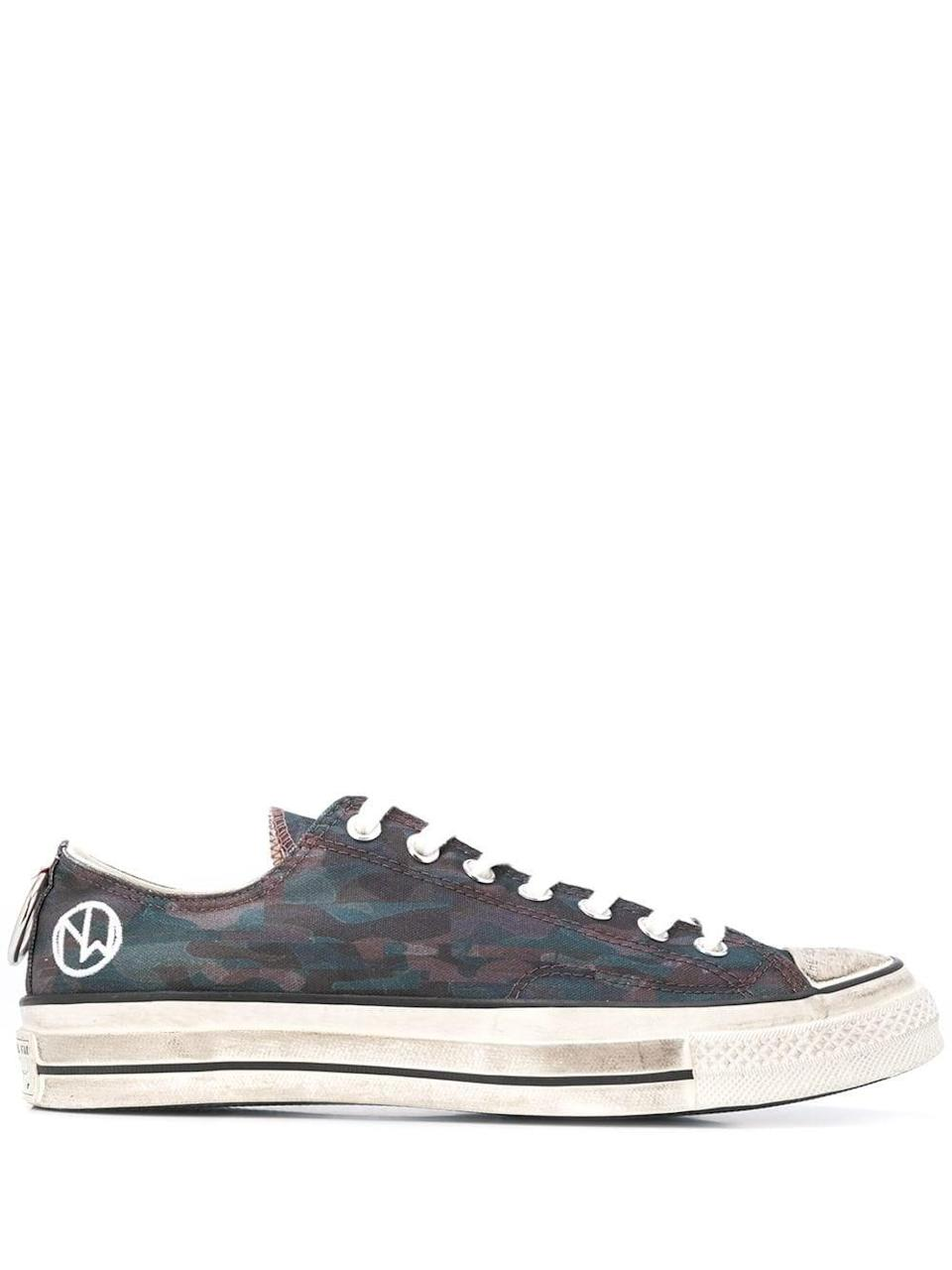 <p>Shop the <span>Converse Undercover 70s Sneakers</span> ($259) if you're a camouflage person.</p>