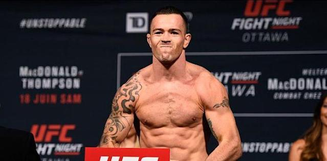 Colby Covington weigh-in