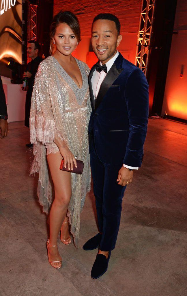 <p>Looking oh-so chic at the GQ Men of the Year awards in London.</p>
