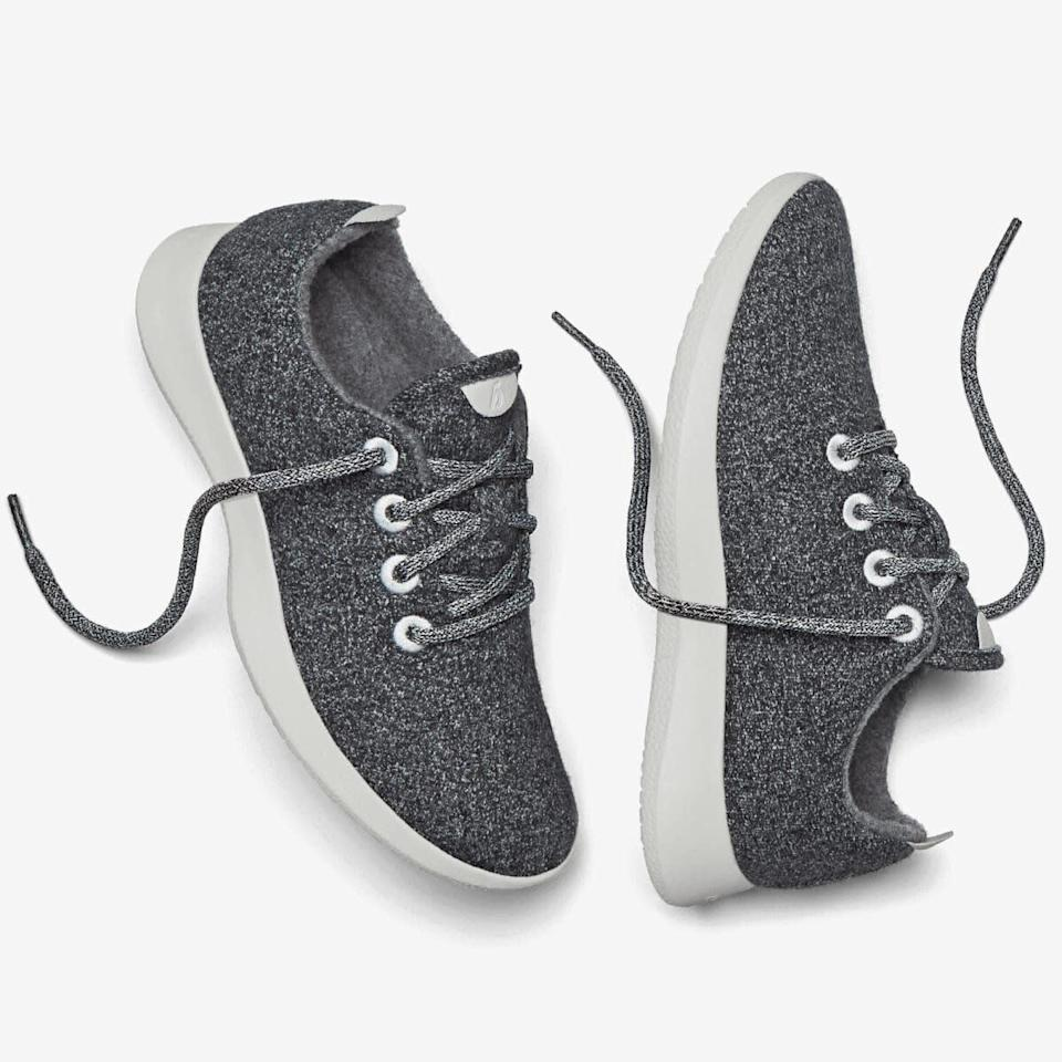 """<a href=""""https://fave.co/33uxFKD"""" rel=""""nofollow noopener"""" target=""""_blank"""" data-ylk=""""slk:Allbirds"""" class=""""link rapid-noclick-resp"""">Allbirds</a>, known for its sustainable shoes, has already donated $500,000 worth of shoes to the health care community. As a part of its """"<a href=""""https://fave.co/31lDt6C"""" rel=""""nofollow noopener"""" target=""""_blank"""" data-ylk=""""slk:Better Together"""" class=""""link rapid-noclick-resp"""">Better Together</a>"""" campaign, you can donate a pair of the brand's <a href=""""https://fave.co/2Xsd8m4"""" rel=""""nofollow noopener"""" target=""""_blank"""" data-ylk=""""slk:Wool Runners"""" class=""""link rapid-noclick-resp"""">Wool Runners</a> for $60 to a health care professional who has reached out to receive a pair.<br><br><a href=""""https://fave.co/3icp8Qu"""" rel=""""nofollow noopener"""" target=""""_blank"""" data-ylk=""""slk:You can donate a pair of shoes to a health care worker for $60 at Allbirds"""" class=""""link rapid-noclick-resp"""">You can donate a pair of shoes to a health care worker for $60 at Allbirds</a>."""