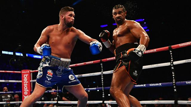 David Haye appears to have got his wish for a rematch with Tony Bellew after throwing down the gauntlet.