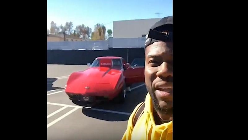 Kevin Hart Has Bought Classic Muscle Cars For His Tour Crew