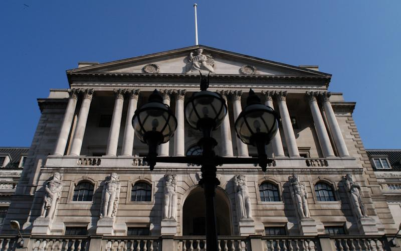 Bank of England - Credit: PA