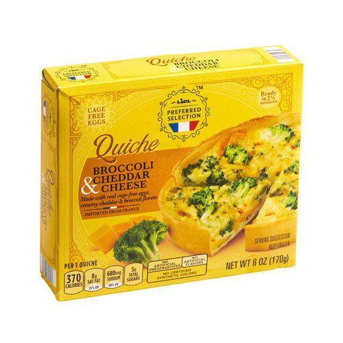 <p>Stock these in your freezer for whenever quiche cravings hit. A good quiche isn't always as accessible as it should be, but that's where Lidl comes in. </p>