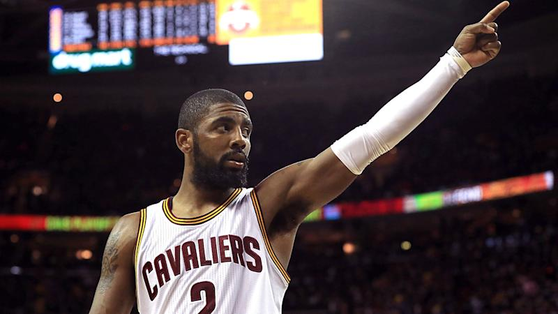 Kyrie Irving hasn't spoken to LeBron, excited to be part of a team with Celtics
