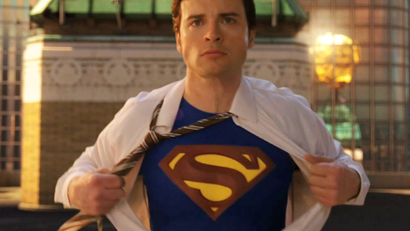 Tom Welling starred as Clark Kent/Superman in the TV show 'Smallville'.