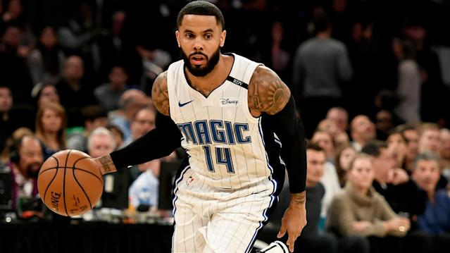 Ryan Knaus discusses Monday's best DFS bargains on FanDuel and DraftKings, including D.J. Augustin, Delon Wright and Mikal Bridges.