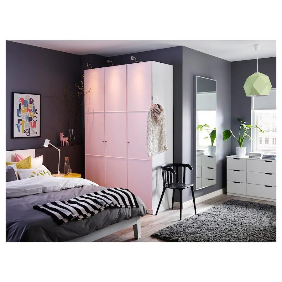 <p>Trust me, your mirror selfies will truly get an upgrade with the <span>Ikea HOVET Mirror</span> ($129).</p>