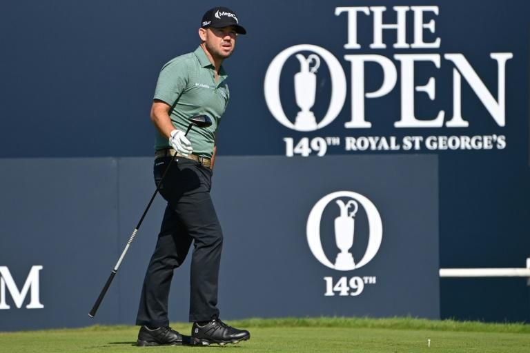 Brian Harman birdied four of the opening five holes to take the early lead at the 149th British Open