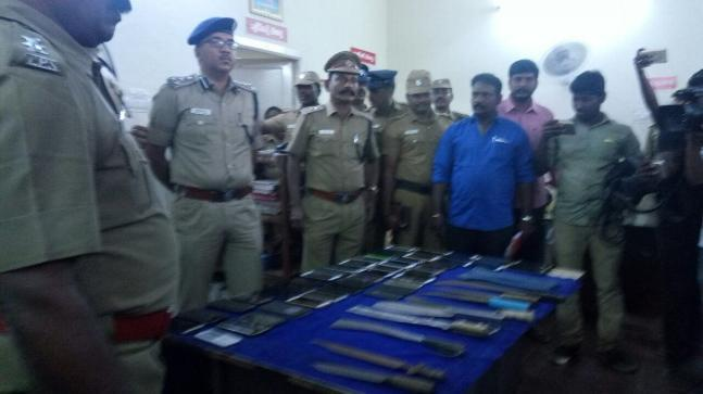 Chennai cops recently arrested more than 67 wanted gangsters in a major clampdown- where they busted the gang at their kingpin's birthday bash.