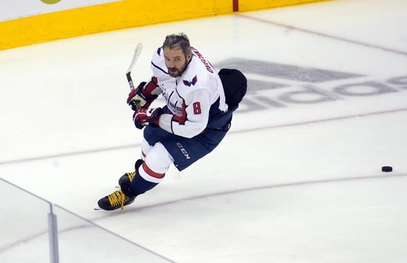 Ovechkin named EA Sports NHL 21 cover athlete