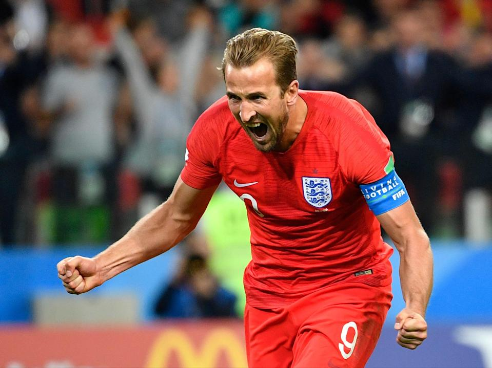Boot boy: Kane was top scorer in Russia and will fancy his chances of repeating the feat (AFP/Getty)
