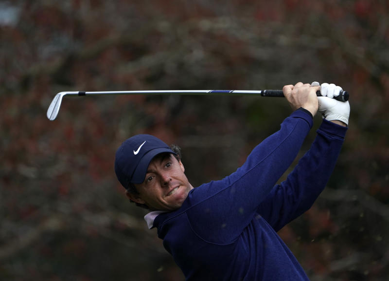 McIlroy looks to regain number one spot
