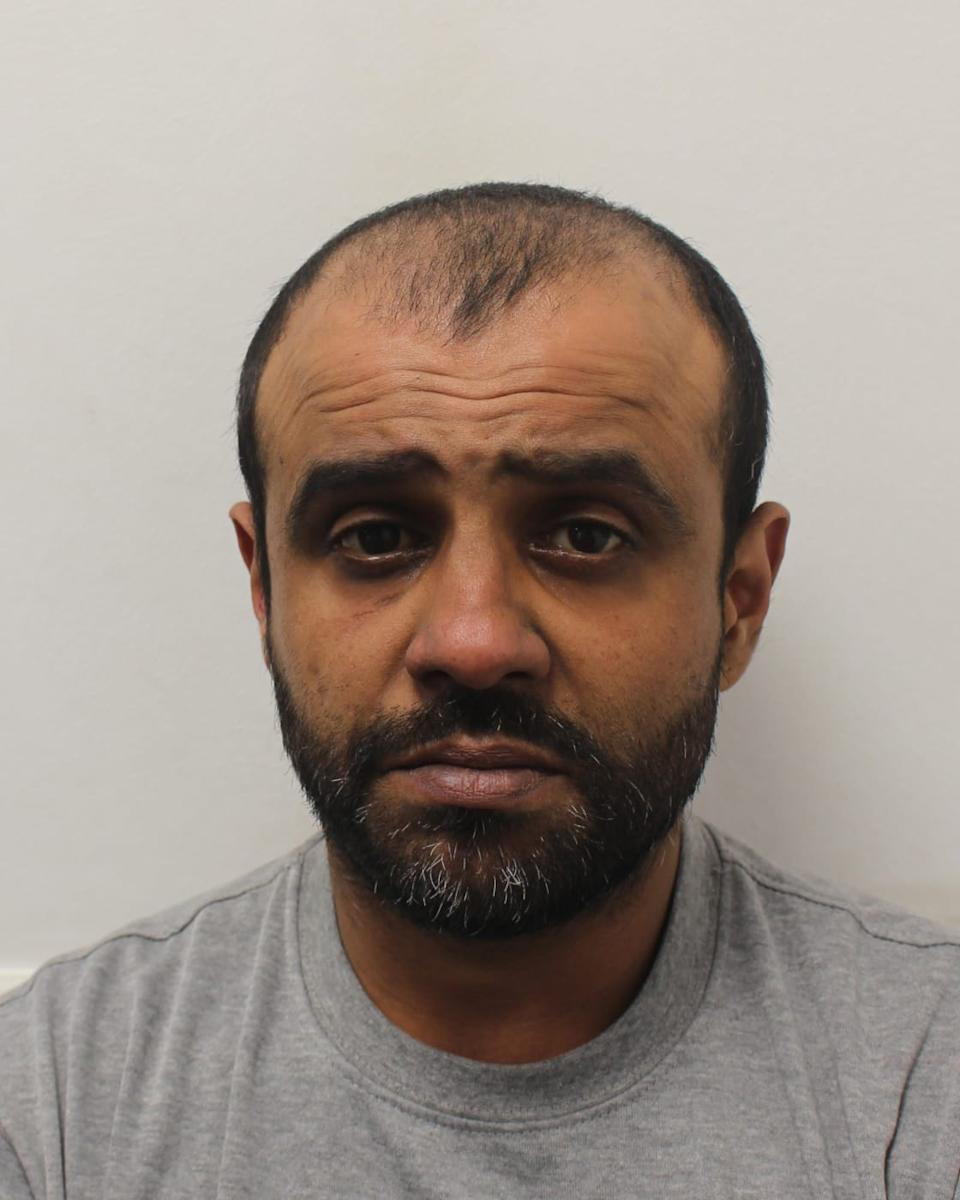 Jay Makwana has been jailed for six years for robbery. (Metropolitan Police)