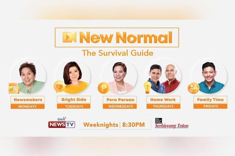 GMA News TV launches 'New Normal: The Survival Guide'