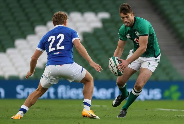 Ross Byrne replaces the injured Ireland captain Johnny Sexton at fly-half for the Autumn Nations Cup clash with England