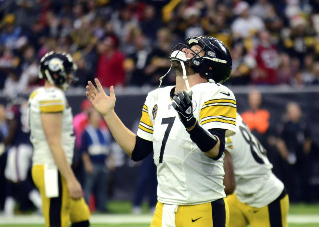 Ben Roethlisberger and the Steelers are looking for a little help from the Jets on Sunday. (AP)