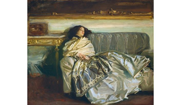 <i>Nonchaloir (Repose)</i>, 1911, by John Singer Sargent. Oil on canvas.
