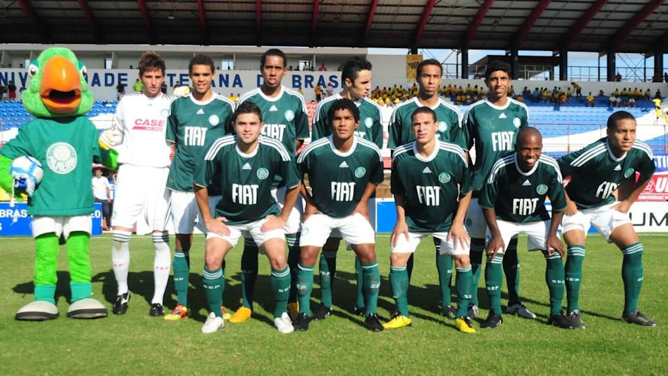Time sub-20 do Palmeiras. | Marcelo Campos/Preview.com/Gazeta Press