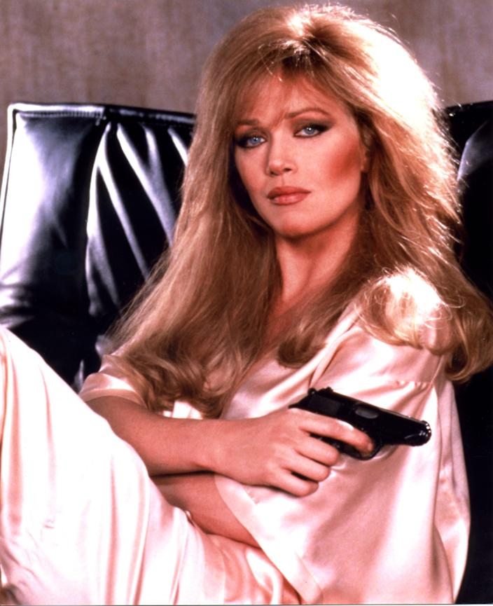 """Tanya Roberts, who starred in """"A View to A Kill,"""" is hospitalized. On Sunday, her representative announced she had died."""