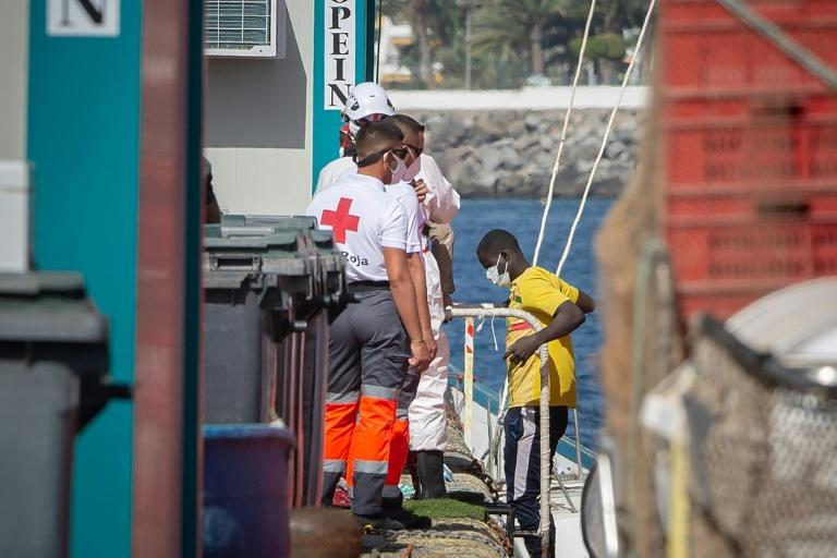 Last year, 23,023 migrants reached the Canary Islands