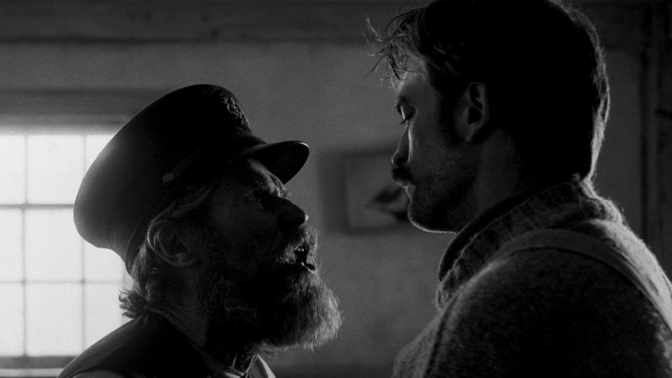 From <em>The Witch</em> director Robert Eggers comes this film, in which Robert Pattinson and Willem Dafoe are locked in a lighthouse and allowed to go slowly insane. (Credit: Universal)