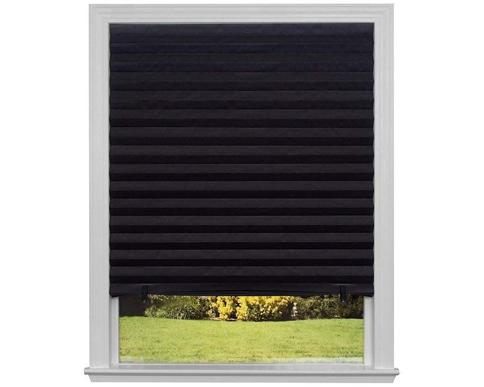 <p>Keep the sun from heating up a room with these <span>Original Blackout Pleated Paper Shades</span> ($31).</p>