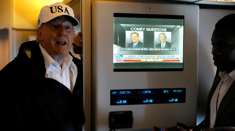 Trump Watches Up To 8 Hours Of TV Per Day
