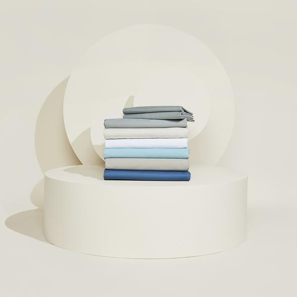 "<p>On the other hand, if you sleep hot, the Slumber Cloud Essential Cotton Sheet Set will put an end to sudden <a href=""https://www.glamour.com/story/best-sleepwear-for-night-sweats?mbid=synd_yahoo_rss"" rel=""nofollow noopener"" target=""_blank"" data-ylk=""slk:sweaty wake-ups"" class=""link rapid-noclick-resp"">sweaty wake-ups</a> that plague your slumber. Unlike moisture-wicking sheets that cool you down after you've already gotten hot, these high-tech sheets regulate your temperature <em>before</em> you start to overheat. Pro tip: The sheets are incredible on their own, but you're going to want in on the cooling <a href=""https://www.slumbercloud.com/products/core-mattress-pad"" rel=""nofollow noopener"" target=""_blank"" data-ylk=""slk:mattress topper"" class=""link rapid-noclick-resp"">mattress topper</a> if you're a particularly hot sleeper. </p> <p><strong>Details:</strong></p> <ul> <li>Includes one flat sheet, one fitted sheet, and two pillowcases</li> <li>300 thread count</li> <li>40% NASA-approved Outlast® viscose and 60% cotton</li> <li>OEKO-TEX 100 certified</li> </ul> <p><strong>Star Rating:</strong> 4.4 out of 5 stars</p> <p><strong>What customers say:</strong> ""I can not believe how cool these sheets keep me! For the longest time I've searched and I finally found paradise in my sleep. I highly recommend this sheet set to anyone who sleeps hot, or even regular temperature sleepers who just want a perfect night's rest."" <em>—Melonee, reviewer on</em> <a href=""https://cna.st/affiliate-link/2FoCAs6c5AJCuv1wUemtpFKQVkTMm4TZiGQTPZis3qzEncJHSMQ1RjcD6ut3TF5cc86xtvqBoMCaCzuGuozp5dTUoiZGdFBffNPCGgUXxn2VGQeFy3aV23?cid=602eb47126a087670937e95c"" rel=""nofollow noopener"" target=""_blank"" data-ylk=""slk:Slumber Cloud"" class=""link rapid-noclick-resp""><em>Slumber Cloud</em></a></p> $214, Slumber Cloud. <a href=""https://www.slumbercloud.com/products/essential-sheet-set"" rel=""nofollow noopener"" target=""_blank"" data-ylk=""slk:Get it now!"" class=""link rapid-noclick-resp"">Get it now!</a>"