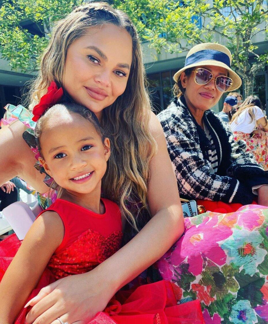 Chrissy Teigen and John Legend Share Sons Name and First