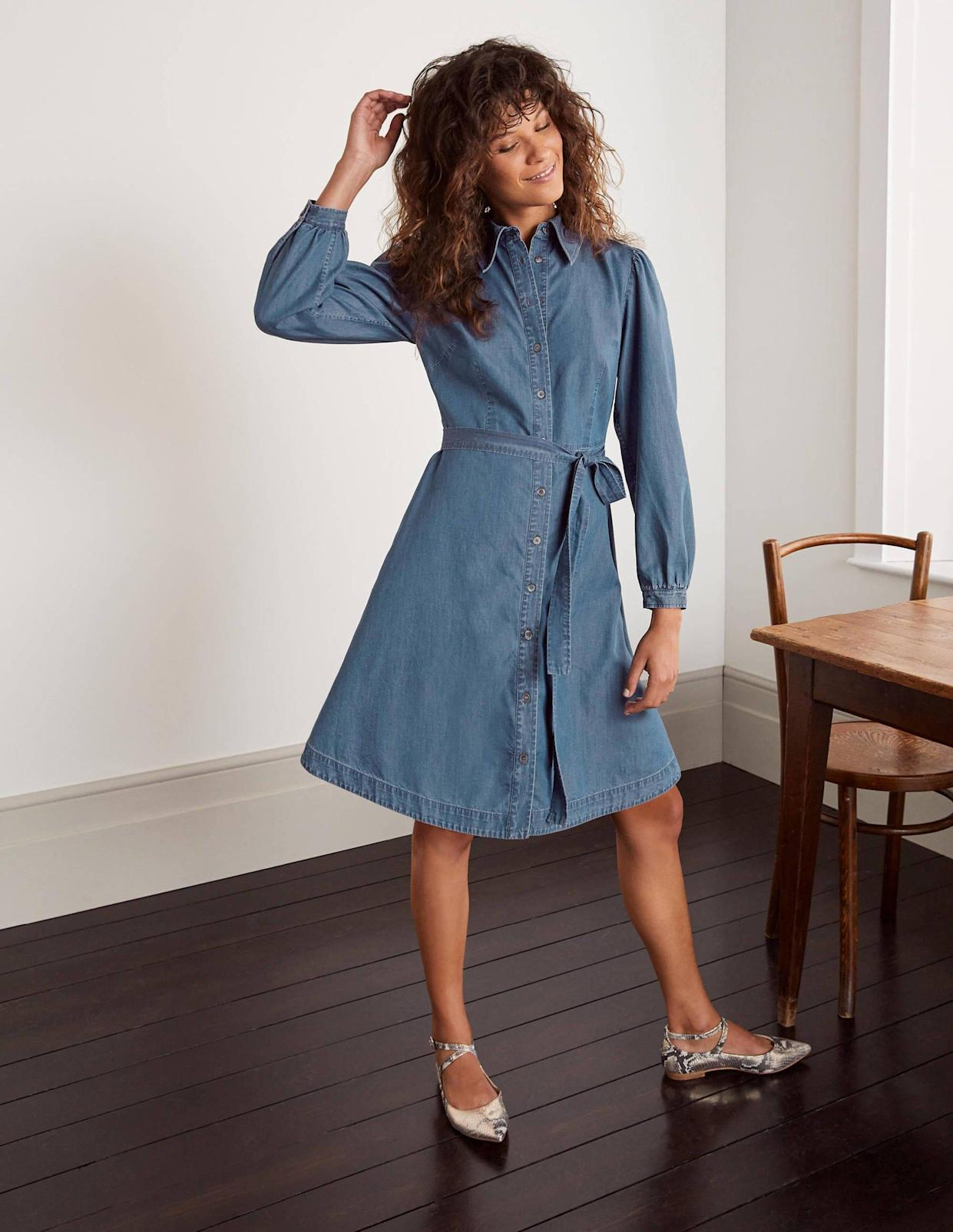The £90 dress is down to just £36. (Boden)