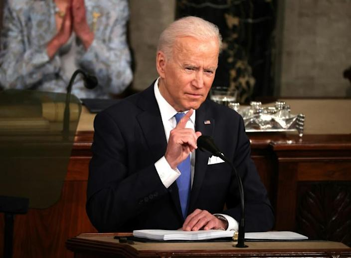 """""""Let's get to work,"""" US President Joe Biden told Democrats and Republicans alike during his first address to a joint session of Congress, but he faces huge hurdles in getting his ambitious trillion-dollar plans passed into law"""