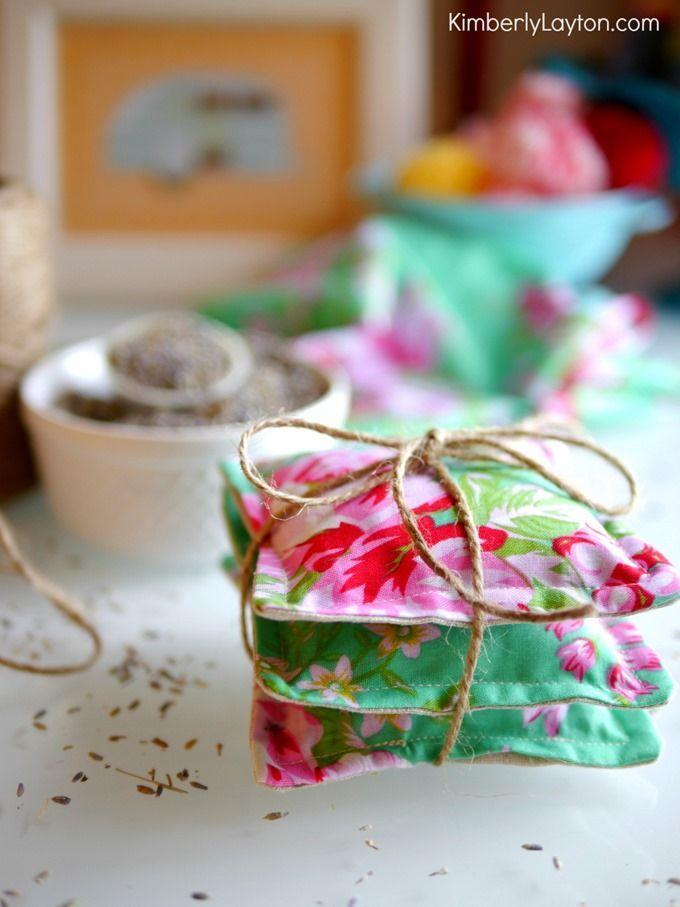 """<p>Tuck these sweet-smelling lavender sachets into dresser drawers or onto closet shelves — they require a basic understanding of sewing (or, a good sewing machine to help you) but they'll give her clothes a subtle scent<br></p><p><em><a href=""""http://www.kimberlylayton.com/2014/10/how-to-make-lavender-sachets/"""" rel=""""nofollow noopener"""" target=""""_blank"""" data-ylk=""""slk:Get the tutorial at Kimberly Layton »"""" class=""""link rapid-noclick-resp"""">Get the tutorial at Kimberly Layton »</a></em><br></p>"""