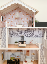 "<p>How incredibly stylish is this dollhouse? Crystal of <a href=""https://crystalanninteriors.com/doll-house-makeover/"" rel=""nofollow noopener"" target=""_blank"" data-ylk=""slk:Crystal Ann Interiors"" class=""link rapid-noclick-resp"">Crystal Ann Interiors</a> revamped an old dollhouse by adding new paint and paper, including the pink <a href=""https://www.chasingpaper.com/wallpaper/spotted/"" rel=""nofollow noopener"" target=""_blank"" data-ylk=""slk:Spotted print"" class=""link rapid-noclick-resp"">Spotted print</a> from Jen Peters for Chasing Paper. </p>"