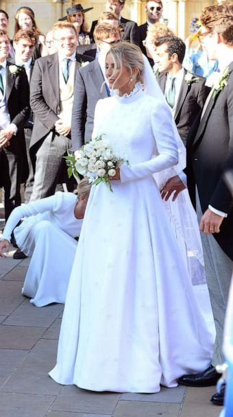 PHOTO:Ellie Goulding at her wedding to Caspar Jopling at the Minister Cathedral in North Yorkshire, England, Aug. 31, 2019. (KGC-102/starmaxinc.com via Newscom)